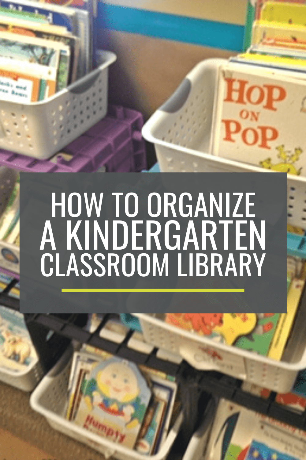 How to Organize a Classroom Library the Easy Way