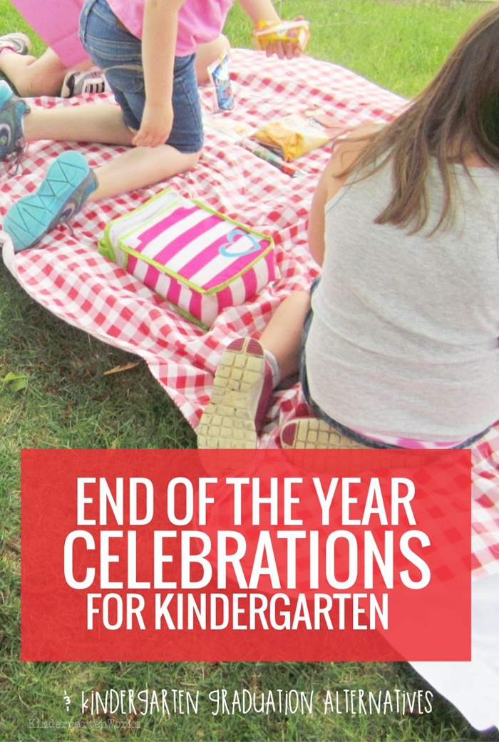 Kindergarten End of the Year Celebration Ideas and graduation alternatives