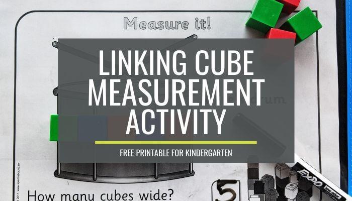 Free 'Titch' Measurement Activity for Kindergarten