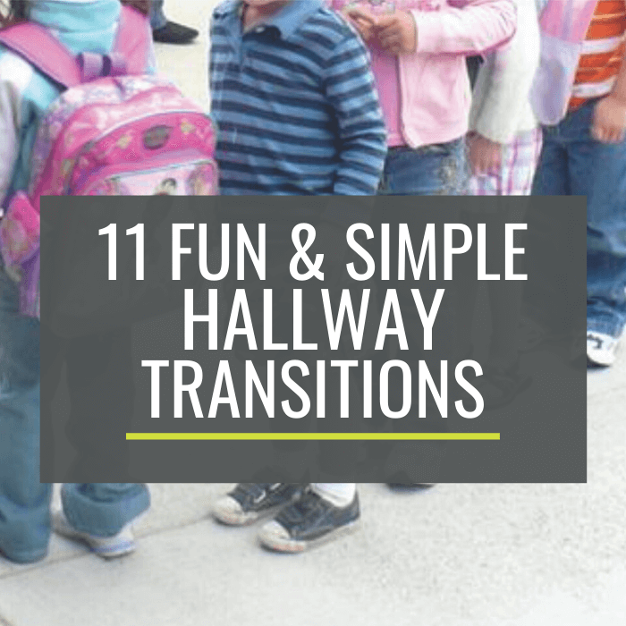Fun and Simple Hallway Transitions for Kindergarten