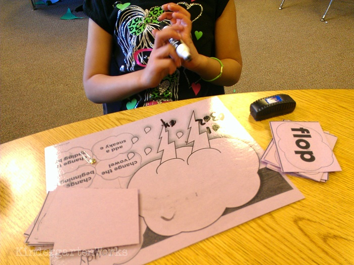 Guided Reading Tools to Make Reading Fun in Kindergarten - Dry erase - love it
