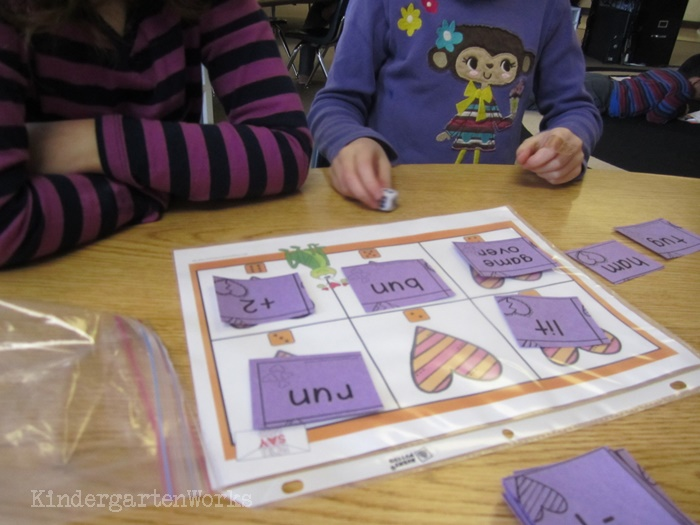Guided Reading Tools to Make Reading Fun in Kindergarten - dice - love it