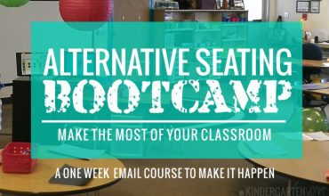 Make the most of your classroom with the Alternative Seating Bootcamp