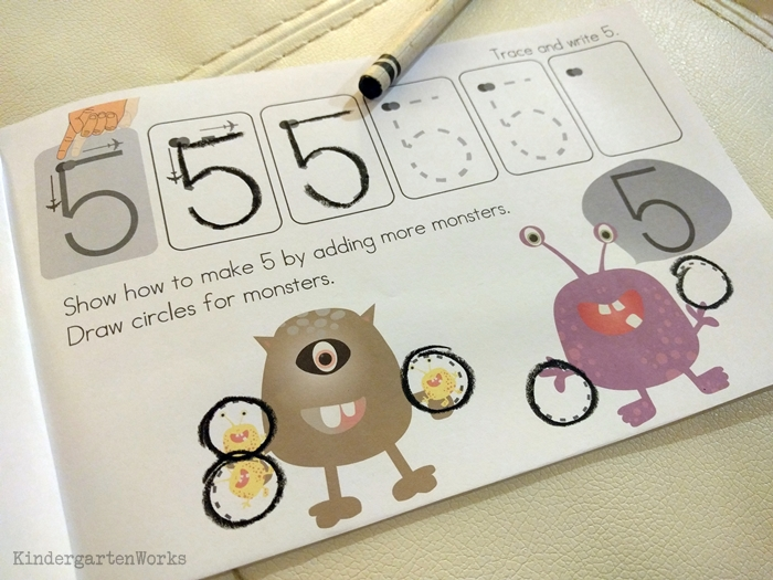 Teaching numbers 1-10 in kindergarten - learn how to write numerals
