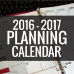 Printable Calendar 2016-2017 Calendar Template