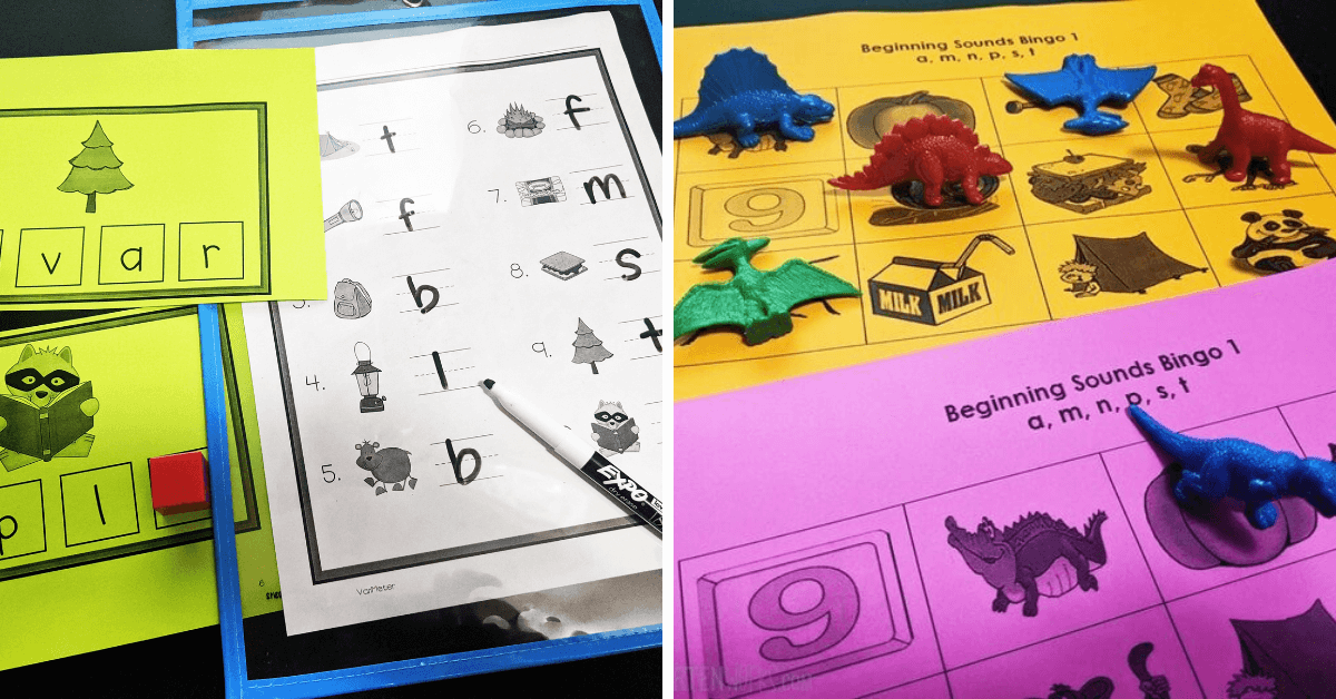 4 Free Beginning Sounds Activities For Small Groups – KindergartenWorks