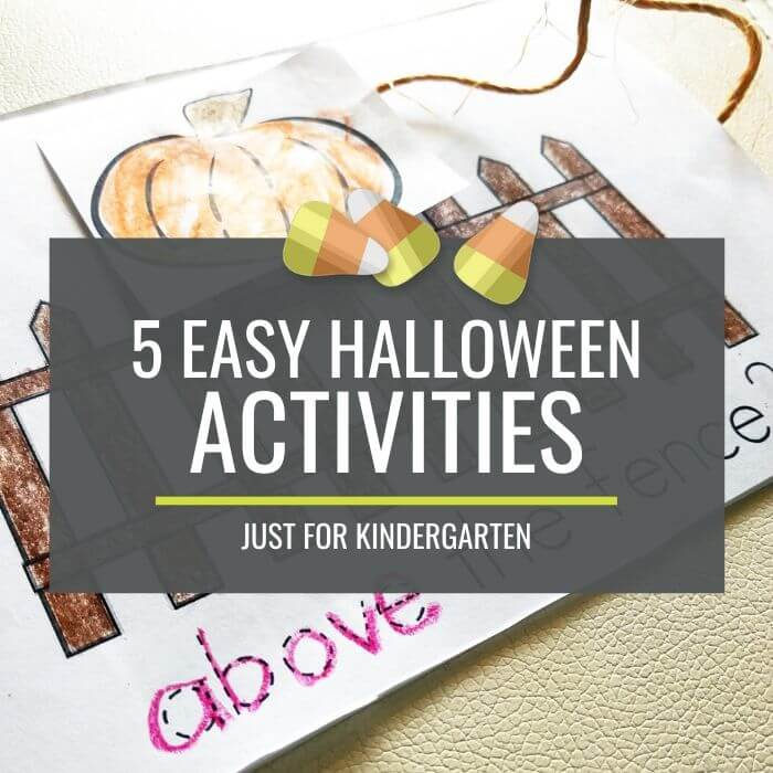 Easy Halloween Activities for Kindergarten