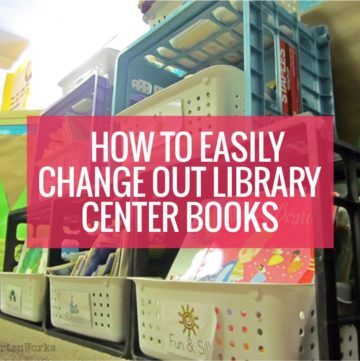 How to Easily Change Out Library Center Books