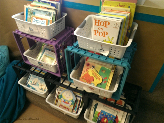 How to Easily Change Out Library Center Books - makes your space any size you want and not dependent upon your amount of books