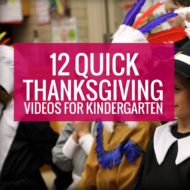 Thanksgiving Videos for Kindergarten