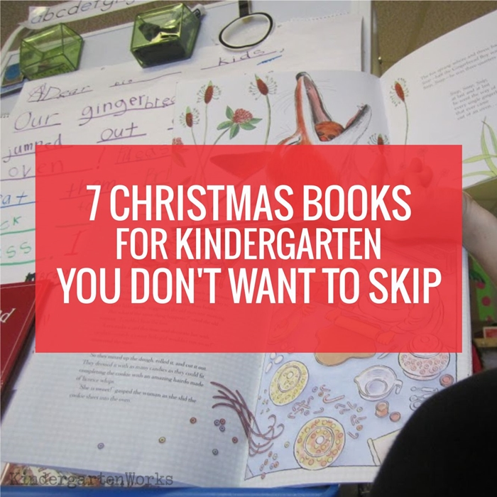 7 Christmas Books for Kindergarten