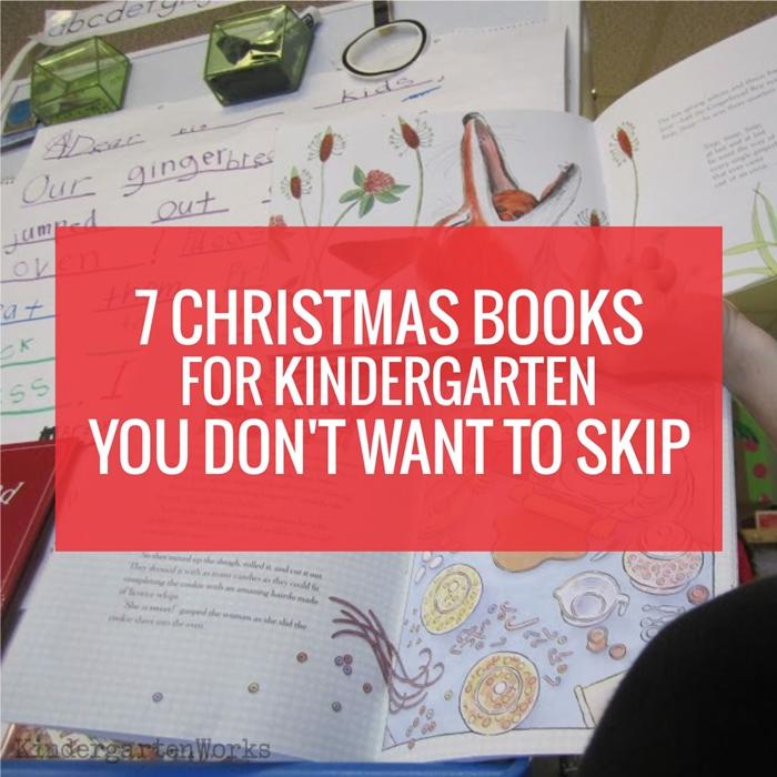 7 Christmas Books for Kindergarten