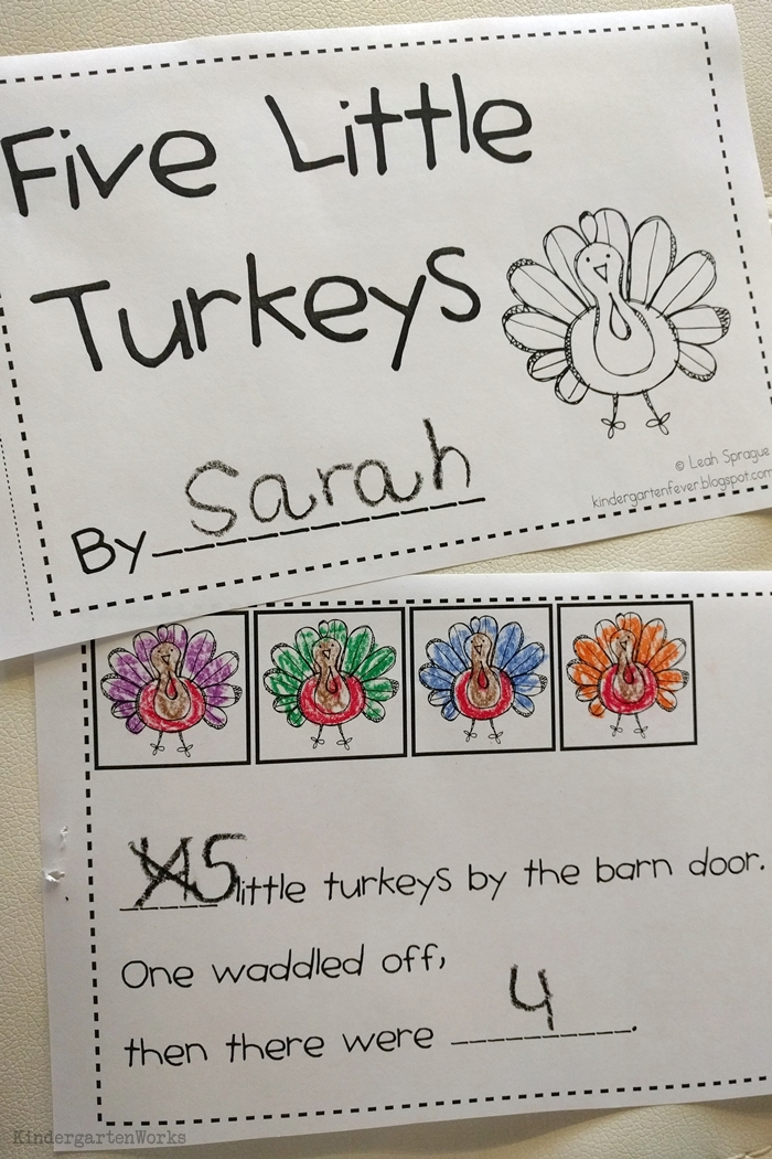 9 Easy and Fun Thanksgiving Activities for Kindergarten - Five Little Turkeys