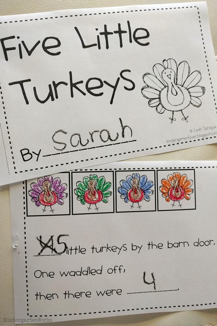 9 Easy and Fun Thanksgiving Activities for Kindergarten - Five Little Turkeys