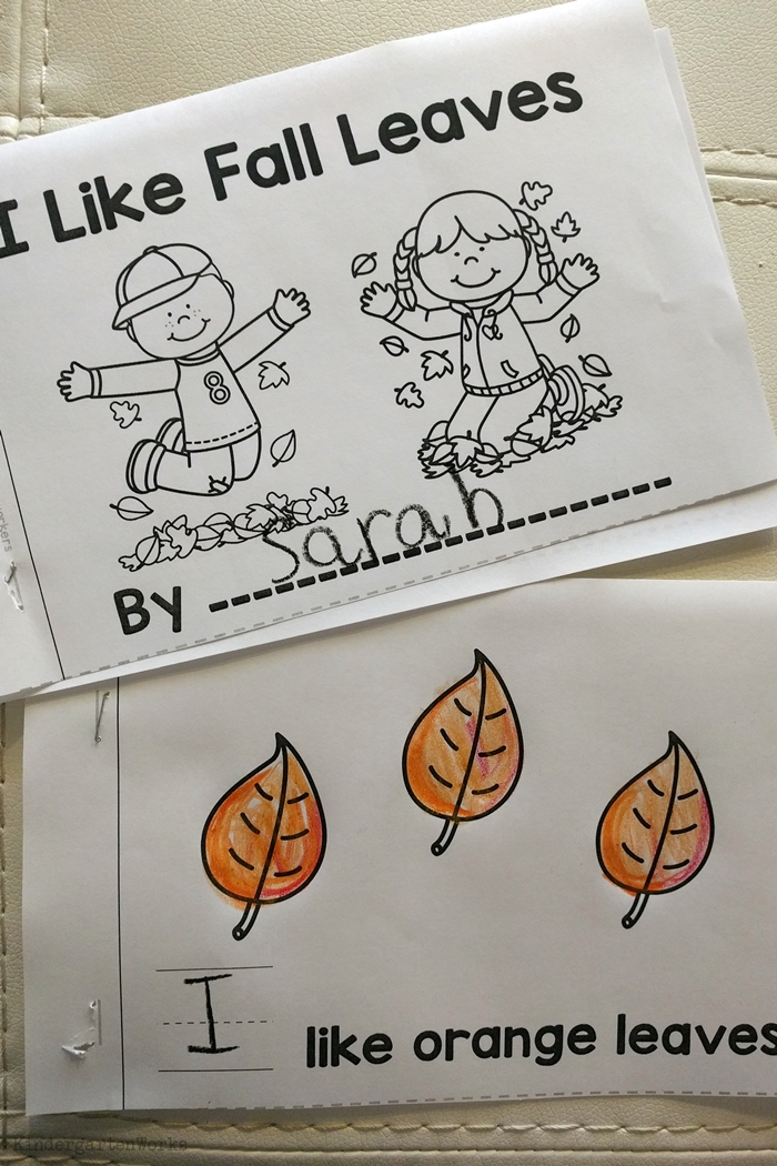 9 Easy and Fun Thanksgiving Activities for Kindergarten - sight word emergent reader
