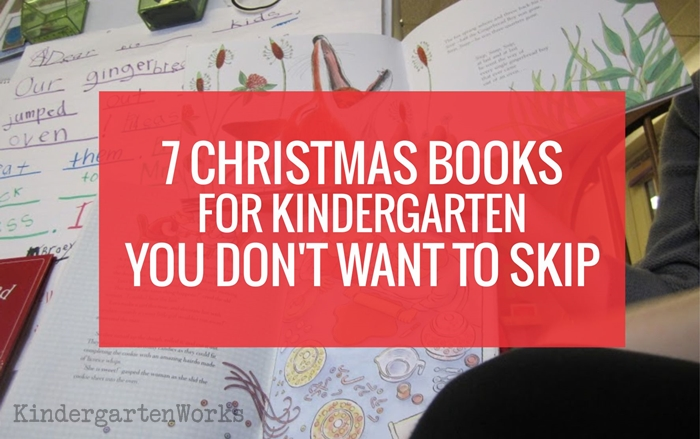 Christmas Books for Kindergarten - this is a great list