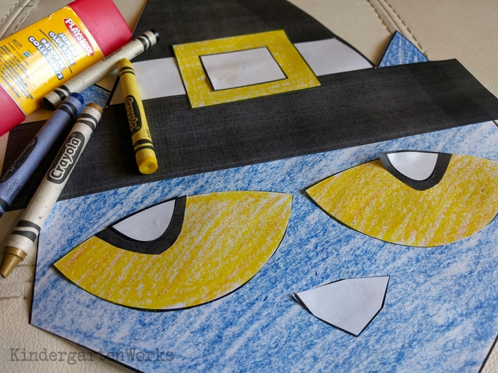 How to Make a Pete the Cat Thanksgiving Activity - easy craft for kids