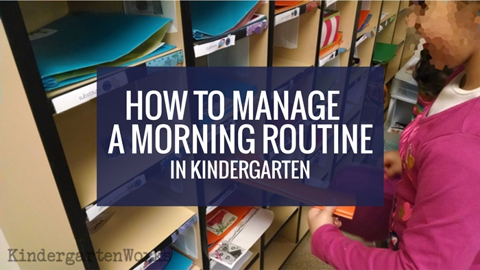 How to Manage An Easy Morning Routine - and what to do with talkers