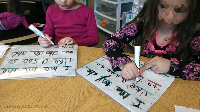 Teach - How to Write Sight Words Fluently - my kindergarteners could do this