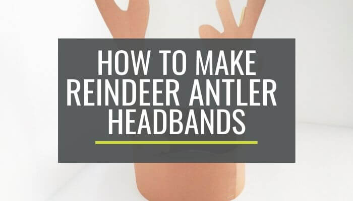 Cute and Free Printable Reindeer Antler Headbands