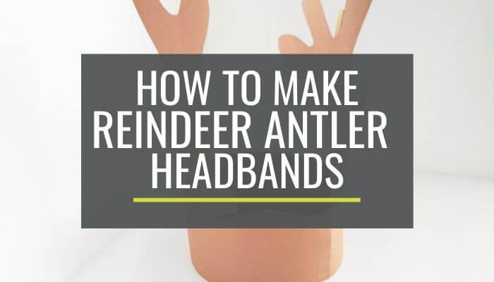 Cute and Free Printable Reindeer Antler Headbands