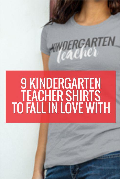 Cute kindergarten teacher shirts