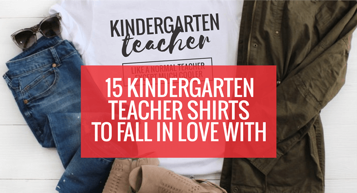 Cutest Kindergarten Teacher T-Shirts