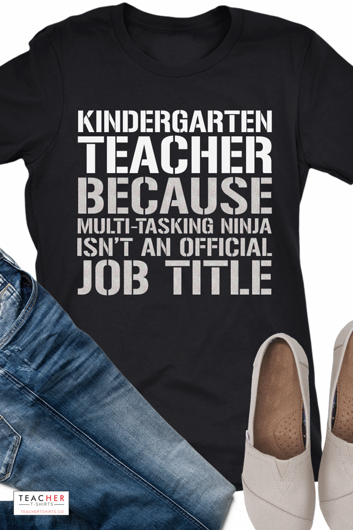 15 Kindergarten Teacher Shirts You Can Fall in Love With ...