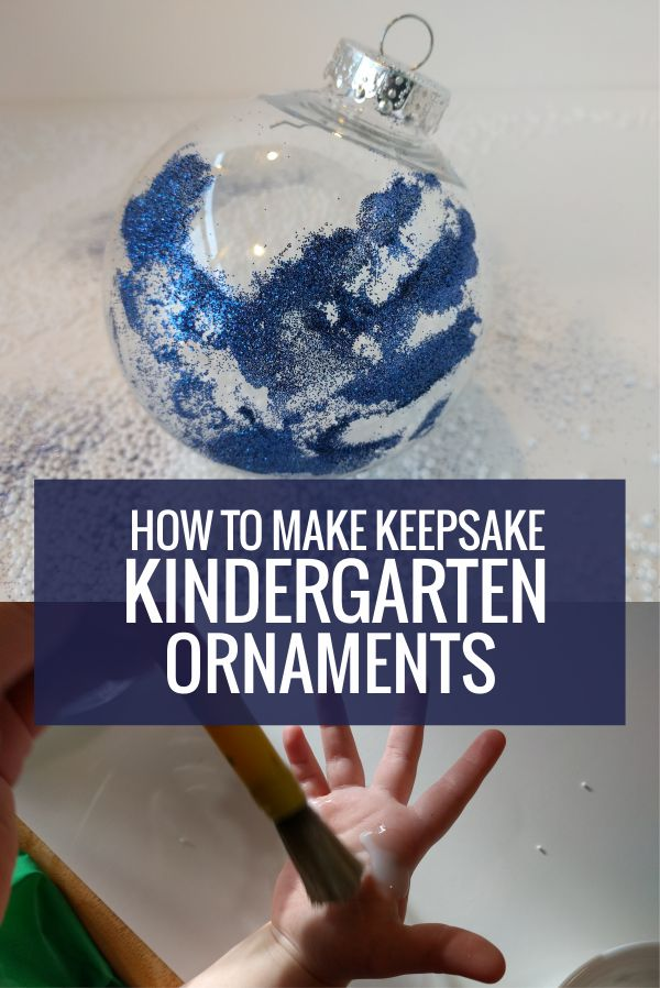 How to Make 4 Christmas Ornaments in Kindergarten