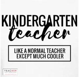 Kindergarten Cool Teacher Shirt