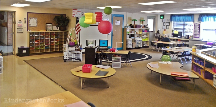Easy to pull off a flawless classroom color scheme
