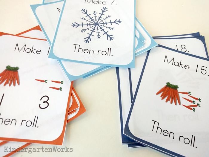 Frozen Kindergarten Composing Teen Numbers Game - three levels of play