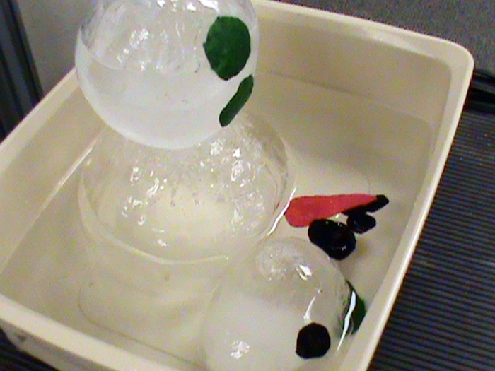 How to Melt a Snowmans Science Experiement - Kindergarten - Use with Sneezy the Snowman