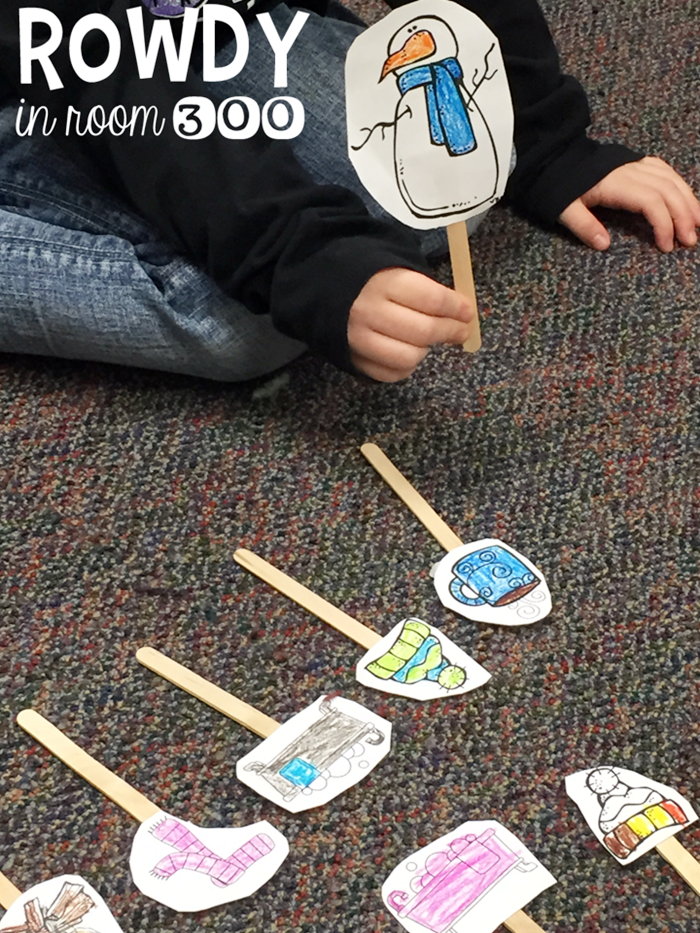 Retell and Sequence Sneezy the Snowman
