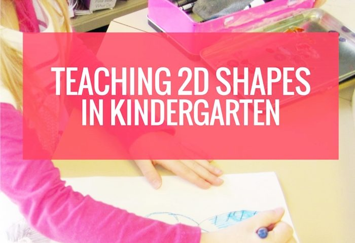Teach: How To Draw 2D Shapes in Kindergarten