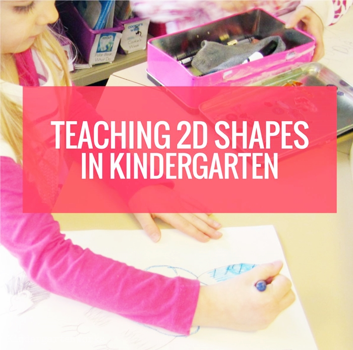 Teaching how to draw 2D shapes