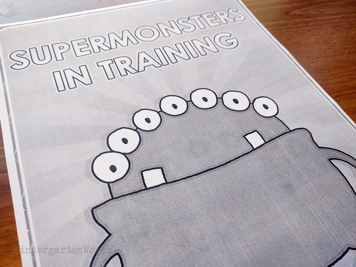 Supermonsters Training Day: Free emergency Sub Plans for Kindergarten