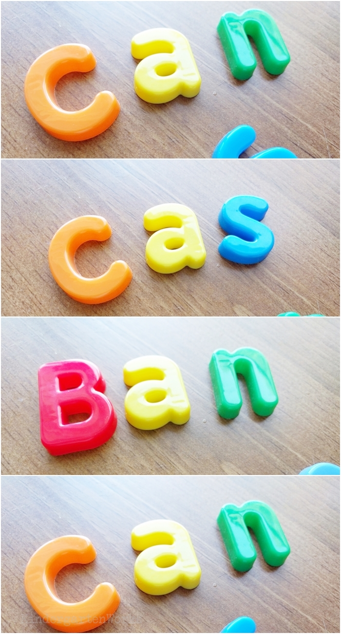 5 Easy Lessons to Teach Sight Words in Kindergarten - Use manipulatives to model what the word looks like