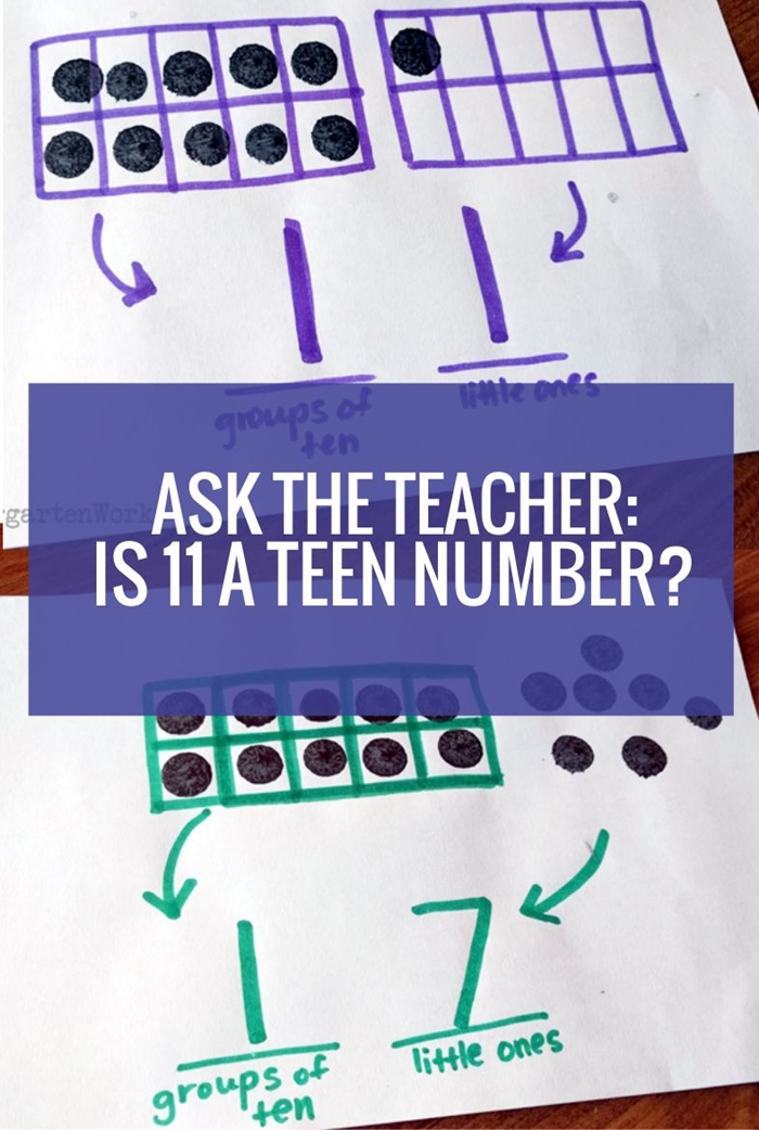 Ask the teacher: Is 11 a teen number?