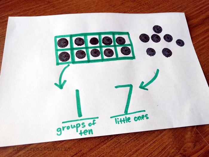 Is 11 a teen number - composing and decomposing