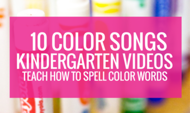 10 Color Songs Videos to Teach How to Spell Color Words
