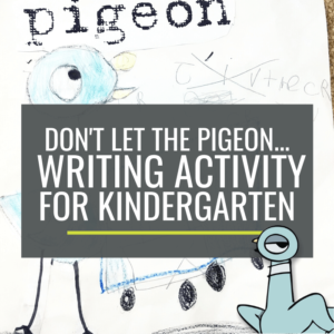 Don't Let the Pigeon Writing Activity