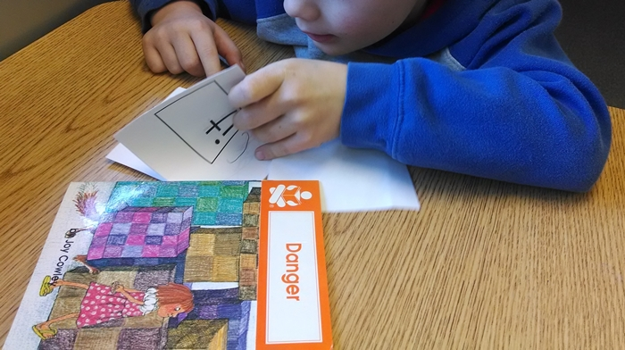 Guided reading groups in kindergarten - but not exactly guided reading groups