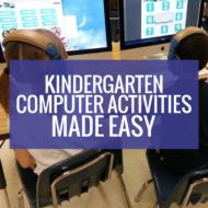 Kindergarten Computer Activities Made Easy