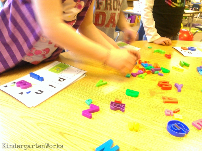 Using activities during guided reading groups