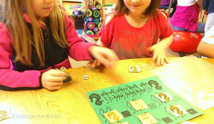 Using games during guided reading groups