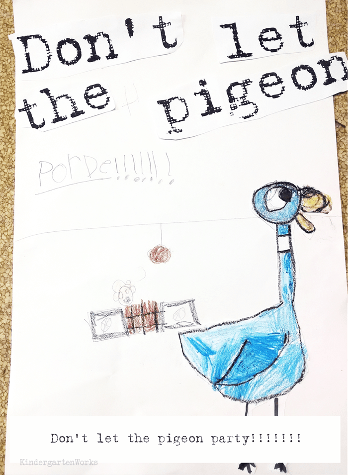 Writing prompt for Don't Let the Pigeon...