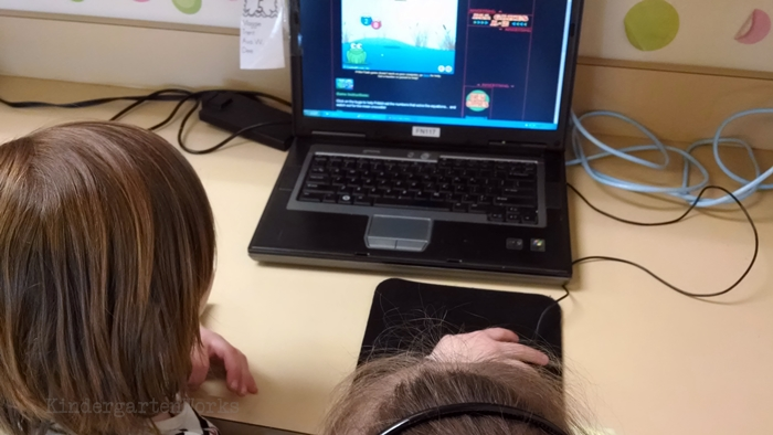 kindergarten computer activities - standards based