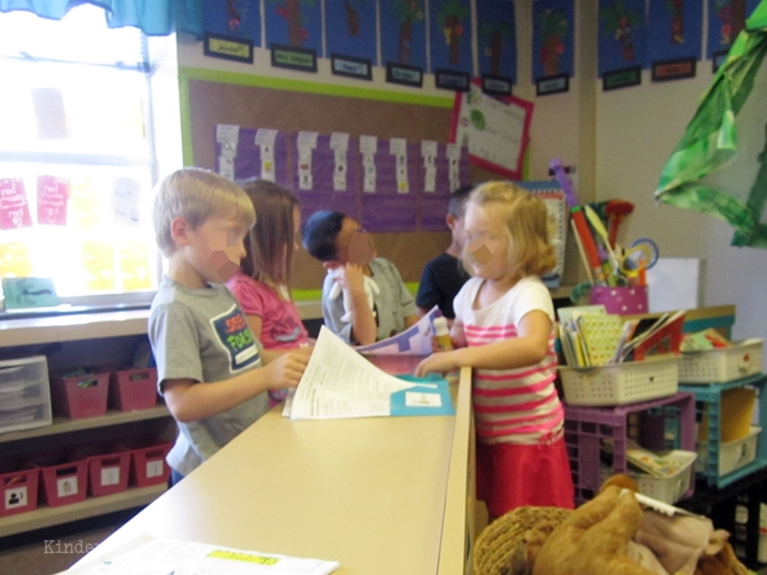 Teach how to go home in kindergarten - Students take ownership over end of day procedures in kindergarten