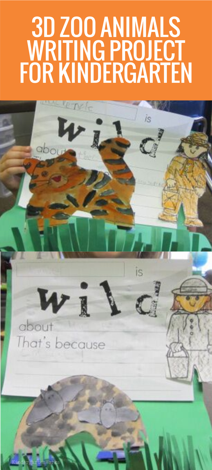 Zoo Animals Writing Project - Kindergarten